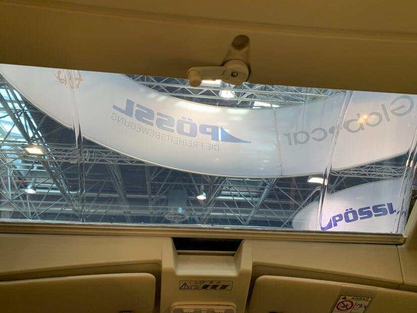 Neues Skyroof im Kastenwagen Wohnmobil von Pössl