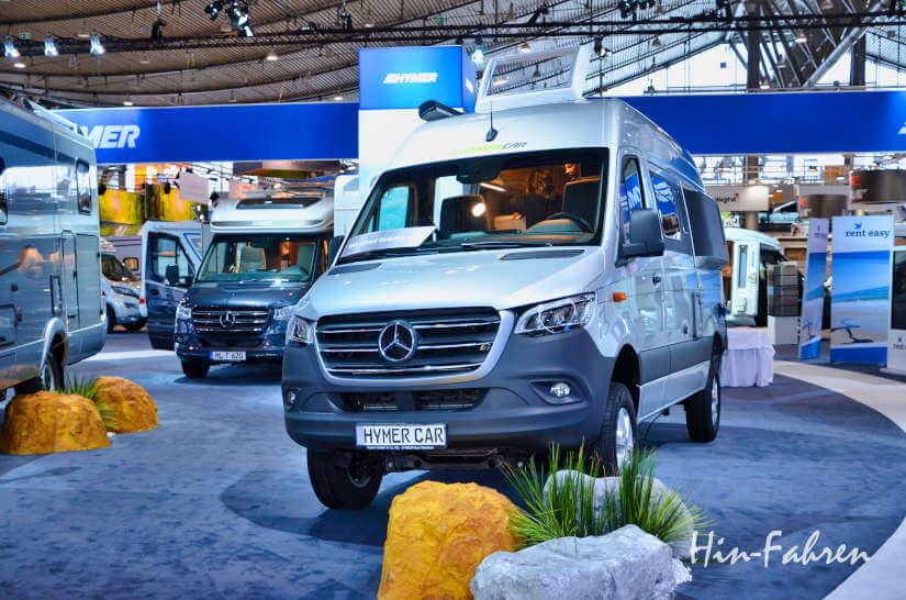 Neuigkeiten bei den Kastenwagen Wohnmobilen auf der Camping-Messe