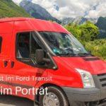Wohnmobil Kastenwagen Ford Transit Selbstausbau