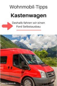 Camper-Interview: Jessica & Horst sind im Ford Transit Kastenwagen Selbstausbau unterwegs