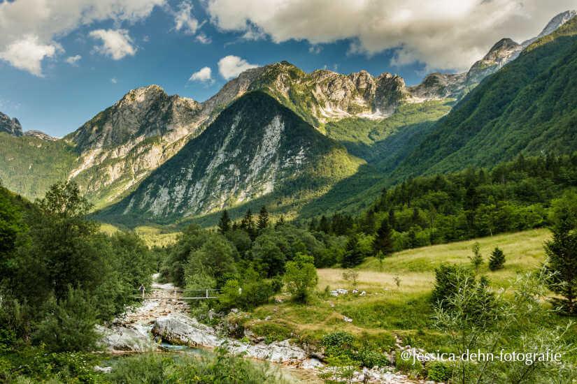 Ziel mit dem Wohnmobil: Gebirge in Slowenien