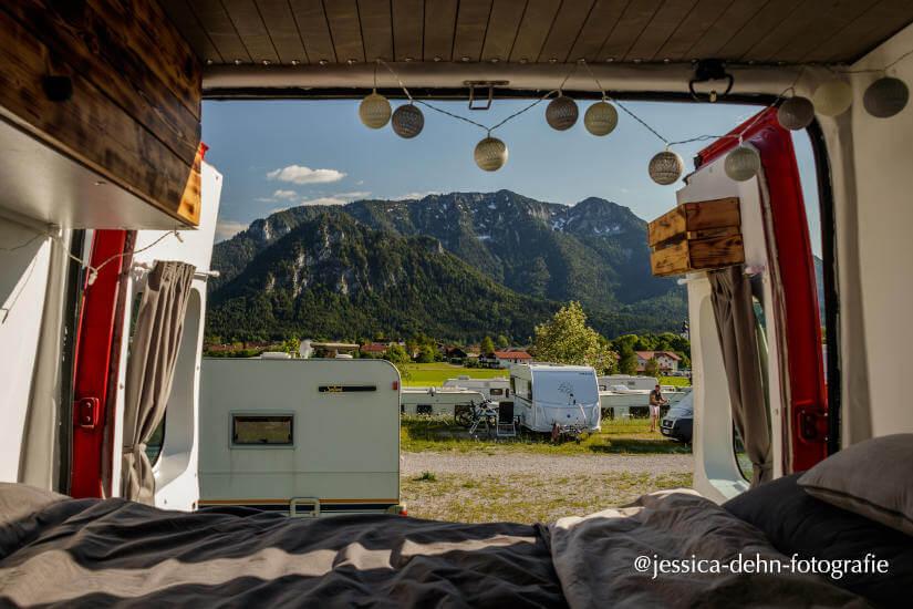 Campingplatz in Inzell