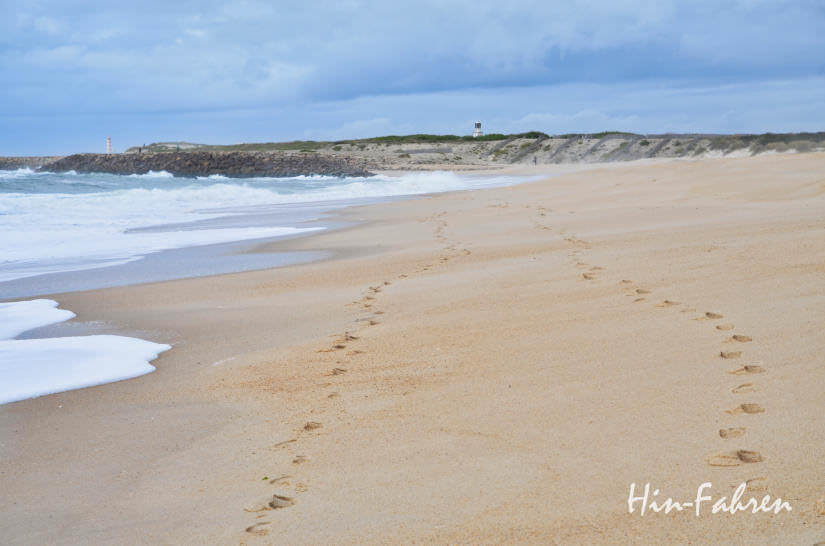 Herbst am Strand in Portugal