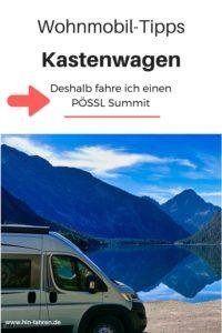 Camper-Interview: Erfahrungen mit dem Pössl Summit Kastenwagen-Wohnmobil