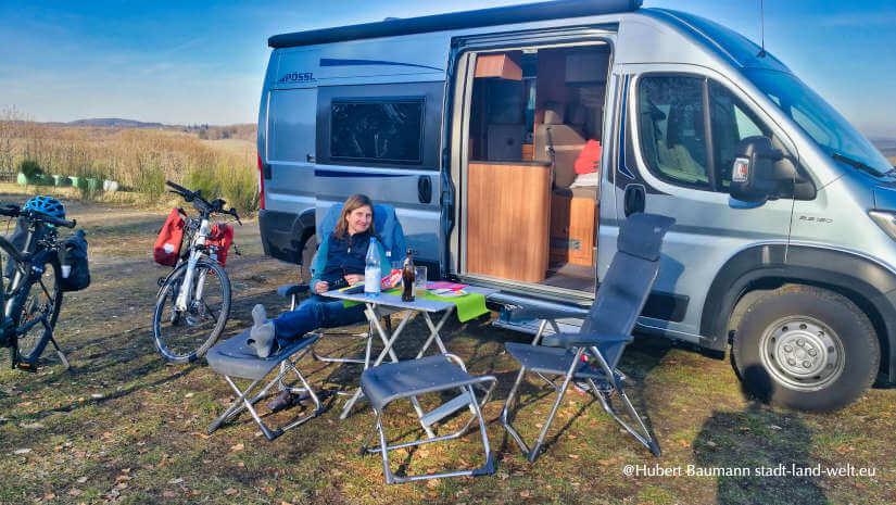 Camping auf dem Campingplatz