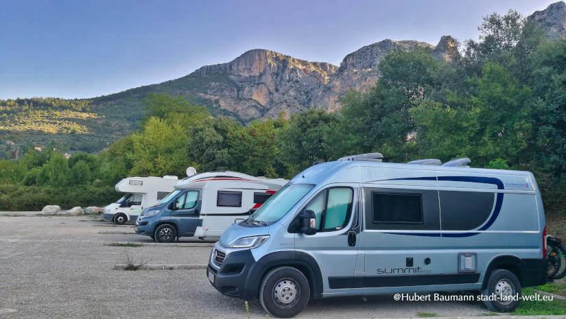 Praxistest mit dem Kastenwagen in Südfrankreich