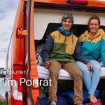 Leonie Meyer und ihr Freund und ihr Vantourer Kastenwagen