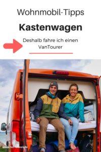 Erfahrungen mit dem Vantourer Kastenwagen Wohnmobil: Viel Platz auf wenig Raum. Kitesurferin Leonie berichtet aus der Praxis #hinfahren #Wohnmobil #Kastenwagen #Vantourer
