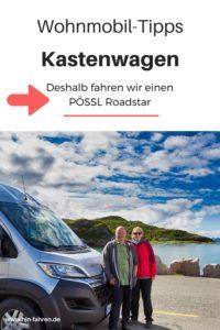 Kastenwagen Wohnmobil Pössl Roadstar im Praxis-Test #wohnmobil #Kastenwagen #Pössl