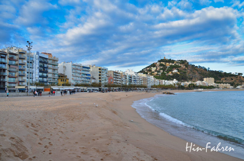 Beliebtes Reiseziel in Spanien: Blanes