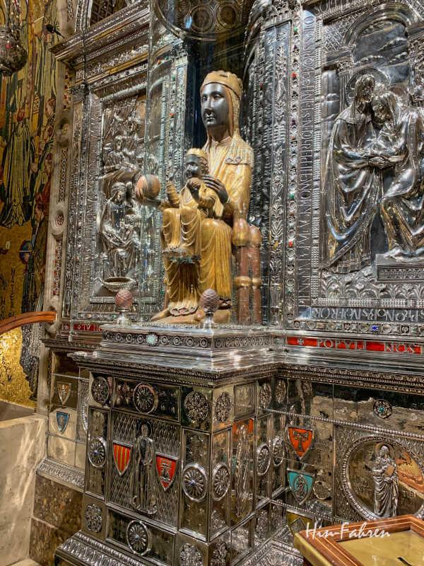 Madonna im Kloster Montserrat
