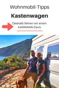 Camper berichten über Erfahrungen Karmann Davis Kastenwagen Wohnmobil #Wohnmobil