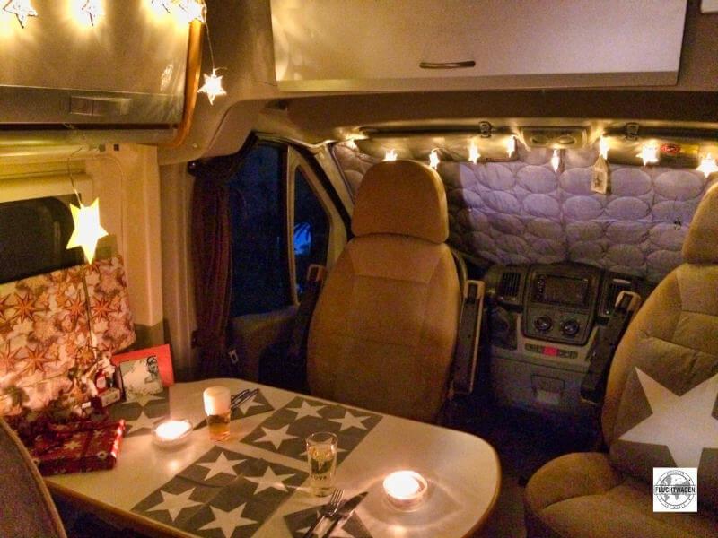 Blick ins Innere des Karmann Davis Kastenwagen