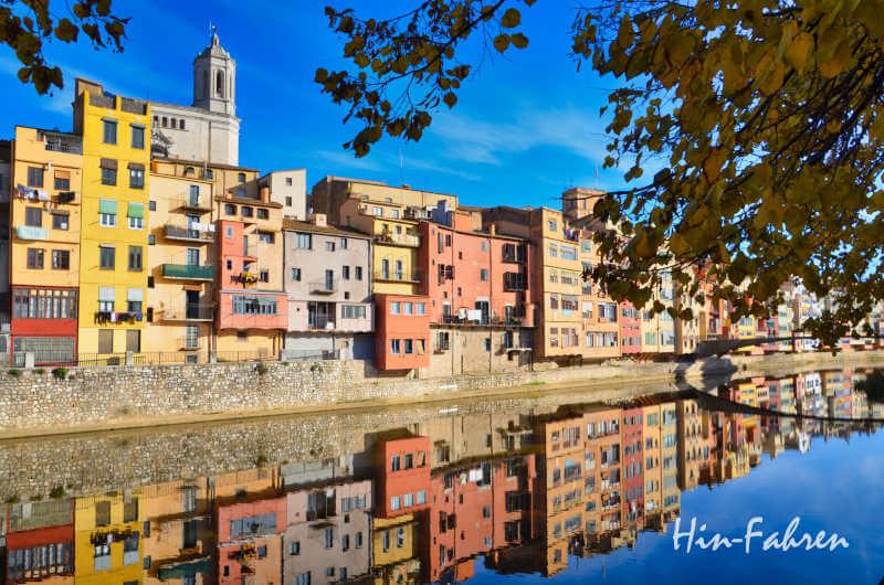Altstadt in Girona: Highlight unserer Rundreise Katalonien mit Wohnmobil
