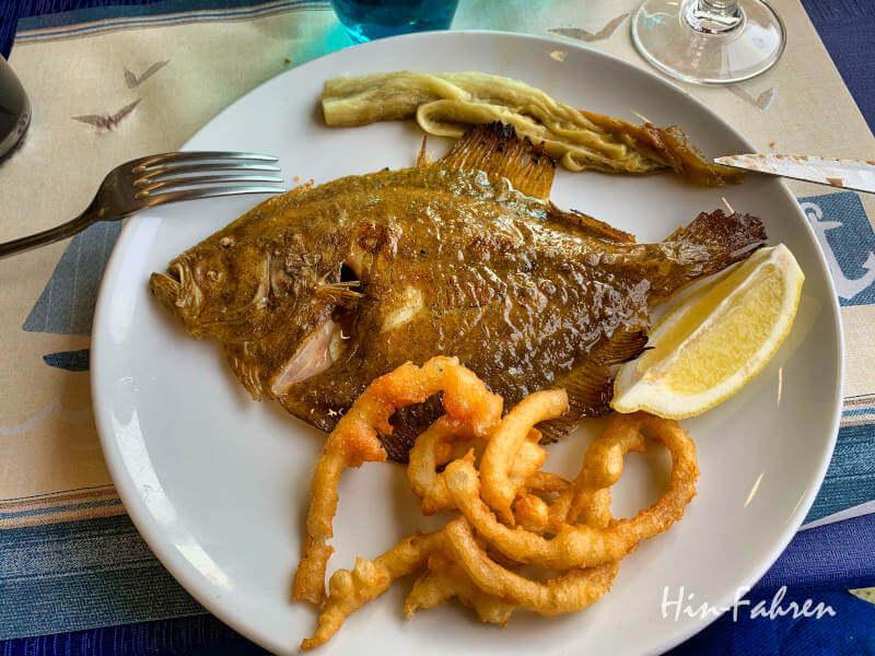 Fisch essen in Katalonien