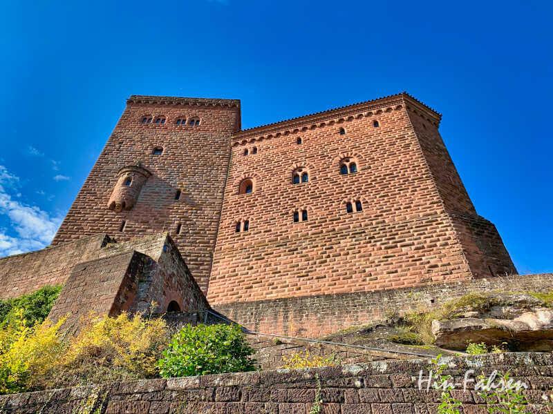 Schönes Ziel in Deutschland: Die Burg Trifels