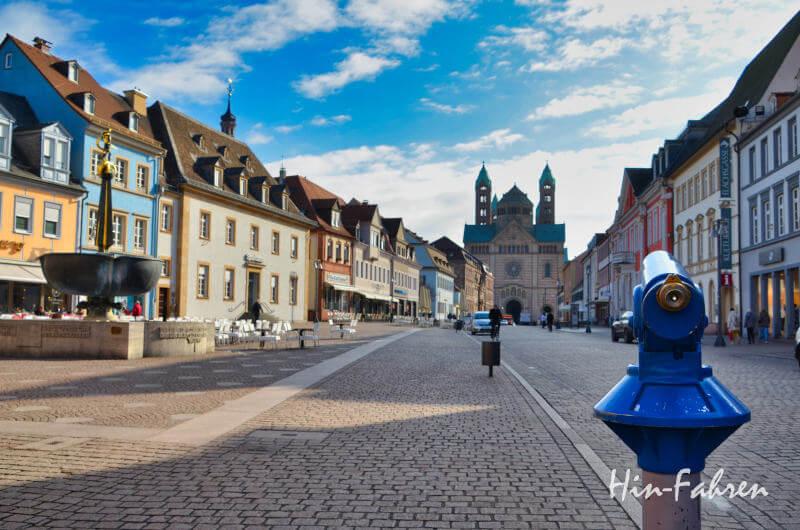 Unterwegs in Speyer in der Pfalz