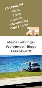 Lieblings-Wohnmobil-Blogs: Lesestoff und Anregungen #wirbleibenzuhause #wohnmobil #reisenimkopf