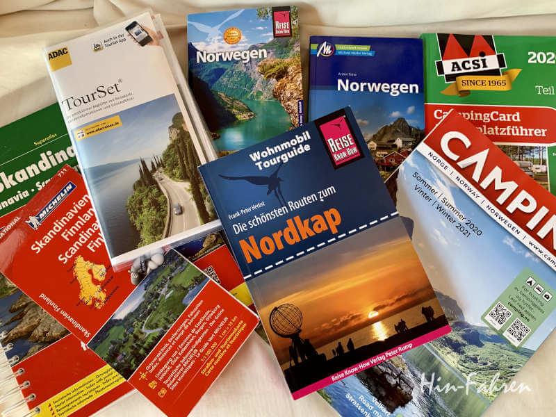 Reiseführer und Campingführer: Reise planen mit Wohnmobil