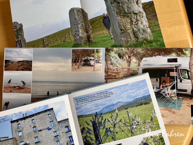 Fotobücher mit Reiseerinnerungen