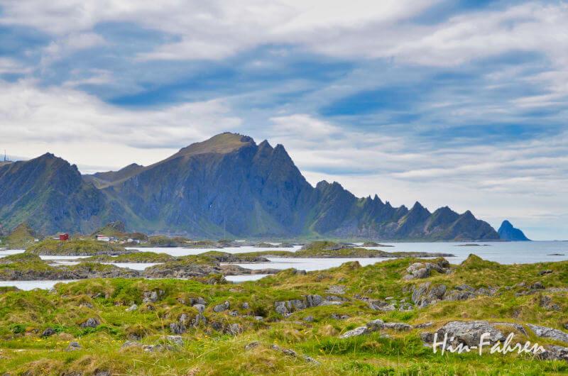 Traumstrassen Norwegen: Gebirge auf Andoya