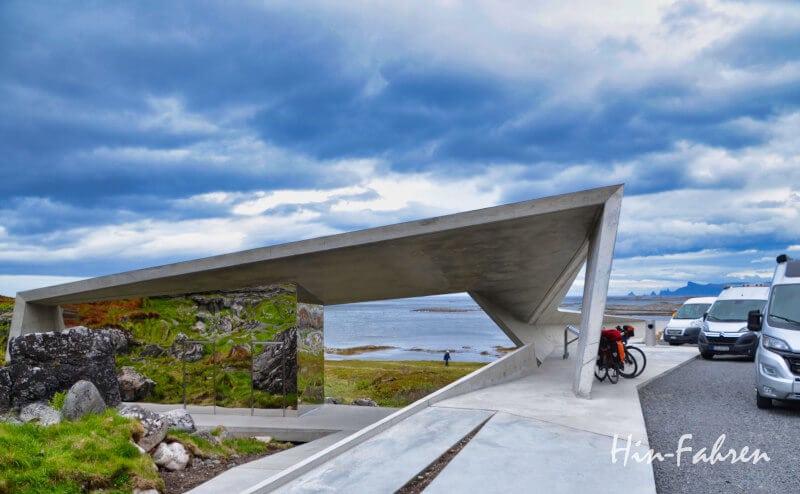 Der Rastplatz Bukkekjerka ist ein Höhepunkt der Landschaftsroute Andøya