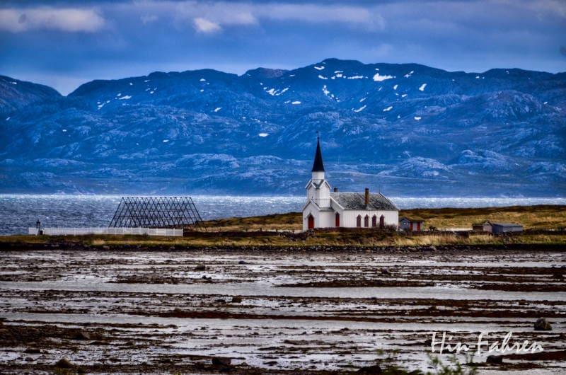 Landschaftsroute Varanger: Kirche in Nesseby