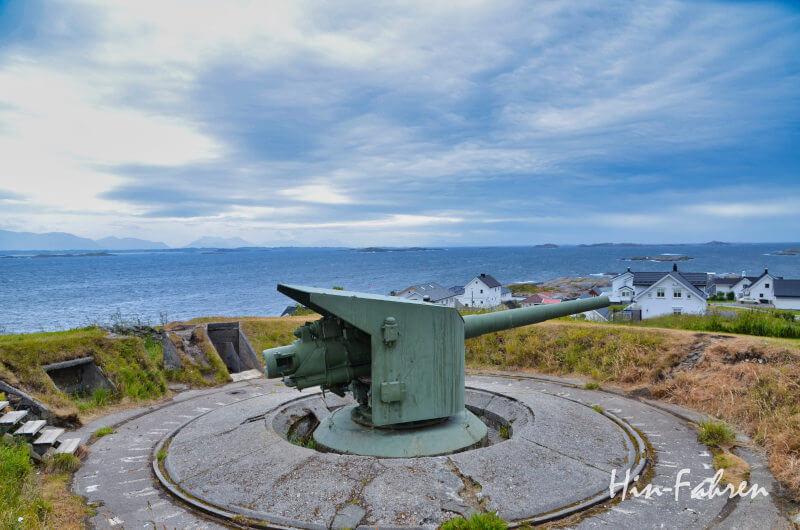 Ende der Atlantikstraße: Heeres-Küsten Batterie Bud