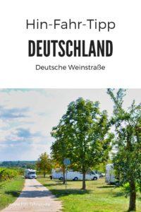 Deutsche Weinstraße mit dem Wohnmobil. Ausgearbeitete Route mit Sehenswürdigkeiten und Wohnmobil-Stellplätzen für Deinen Camping-Urlaub in der Pfalz #hinfahren #wohnmobil #pfalz