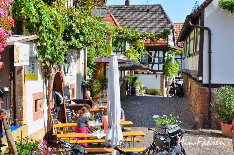 Historischer Ort Gleiszellen an der Deutschen Weinstraße