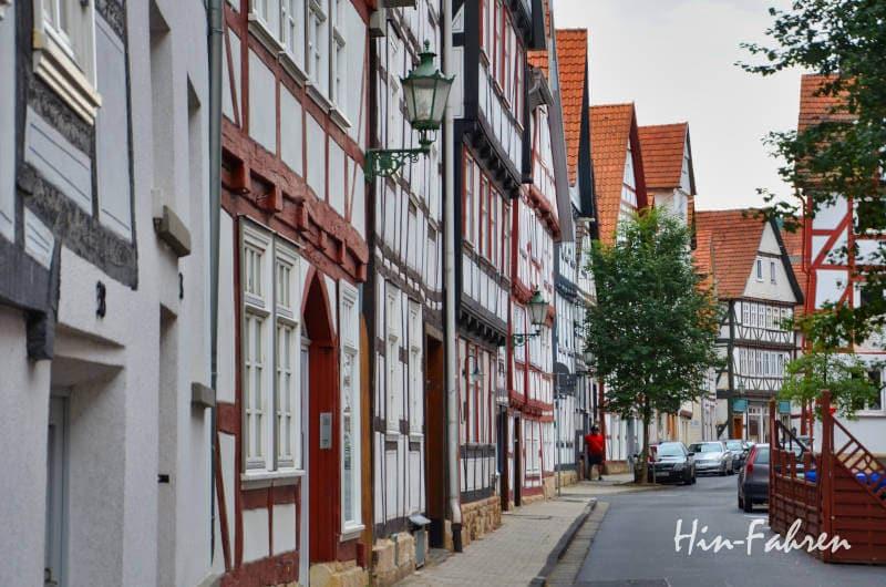 Deutschland erleben mit dem Wohnmobil auf der Deutschen Fachwerkstraße