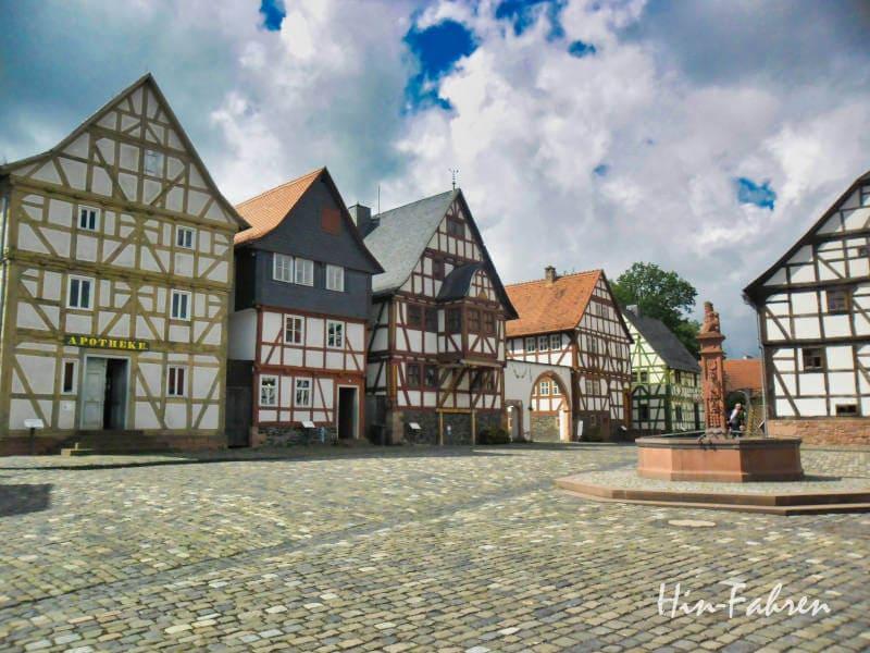 Highlight an der Deutschen Fachwerkstraße: Freilichtmuseum Hessenpark