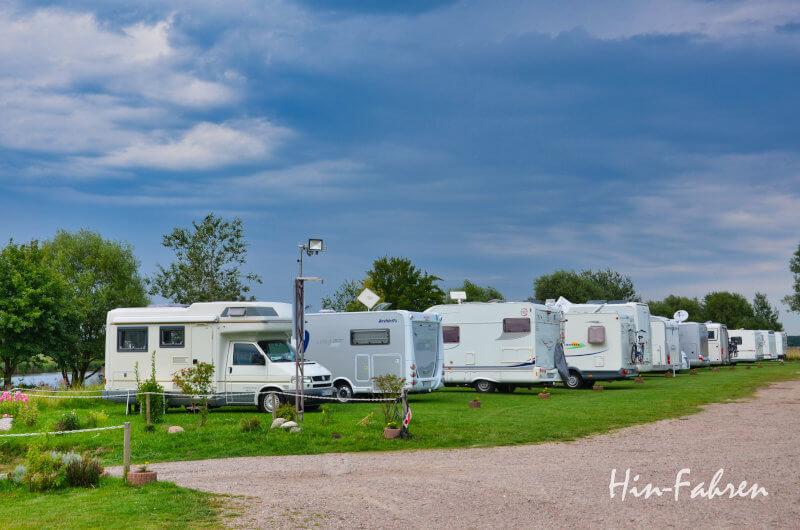 Deutschland mit Wohnmobil: Wohnmobil-Stellplatz Schachtholm am Nord-Ostsee-Kanal