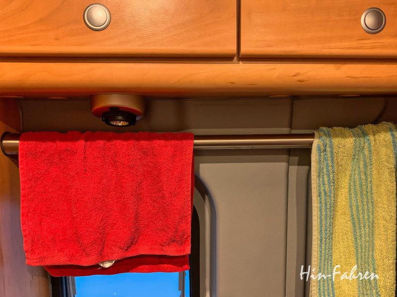 Nützliches Zubehör Camping: Wäsche trocknen auf kleinem Raum