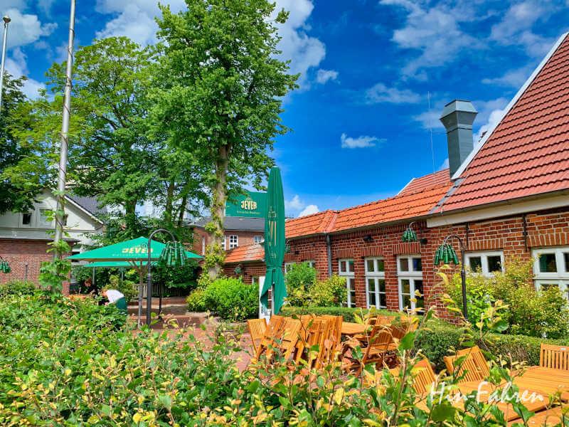 Biergarten in Ostfriesland