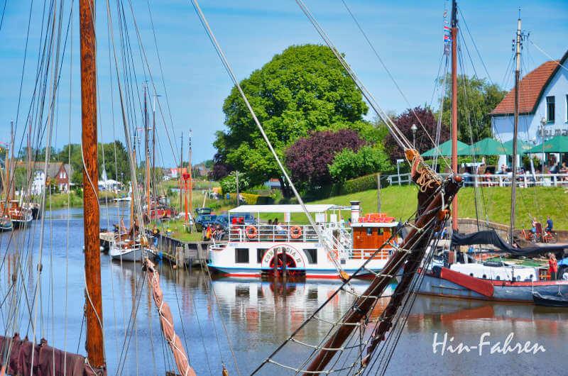 Historische Schiffe in Ostfriesland