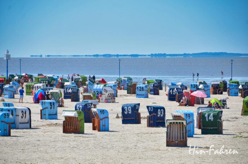 Strand in Neuharlingersiel
