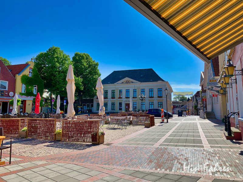 Marktplatz in Esens