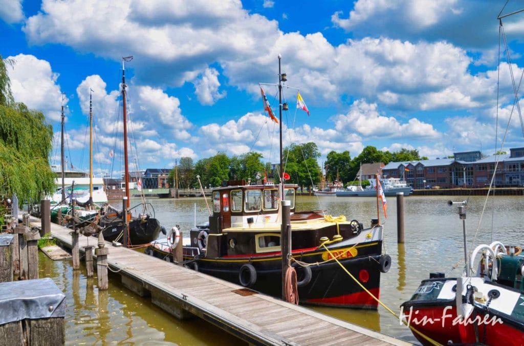 Museumshafen in Leer (Ostfriesland)