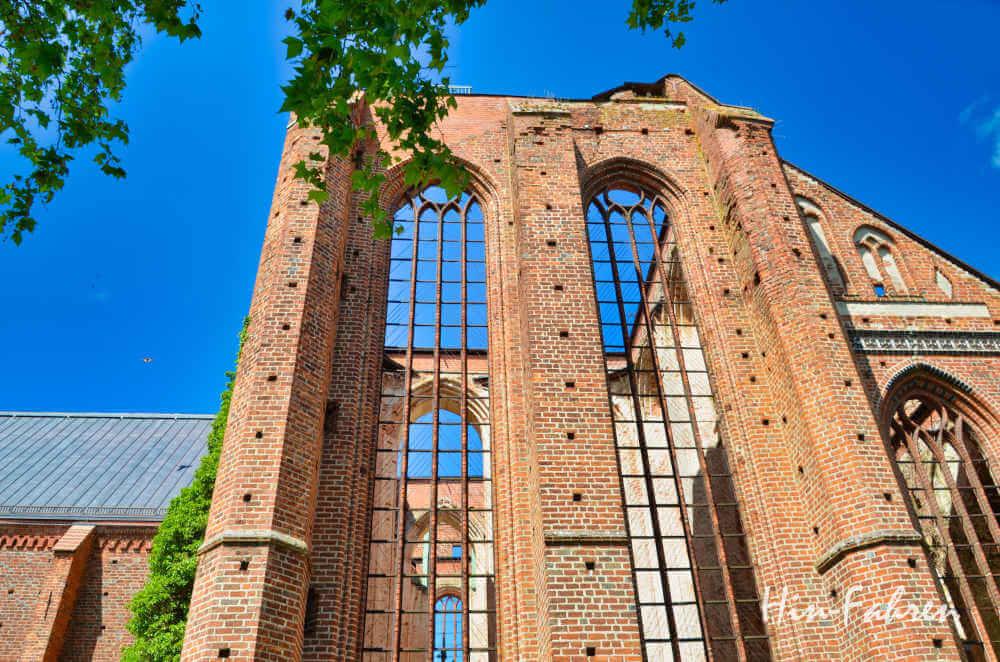 Ziel Camping-Urlaub Mecklenburgische Seenplatte: Die ehemalige Klosterkirche in Dargun