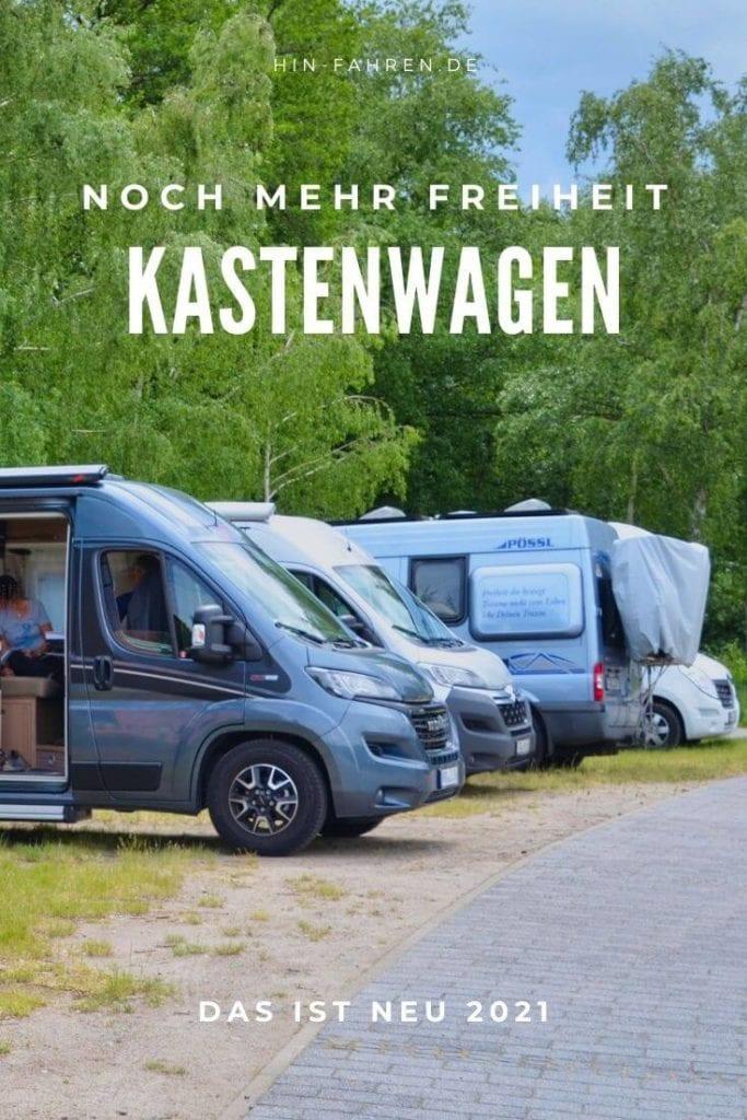 Neuheiten Kastenwagen 2021: Neue Modelle und Grundrisse