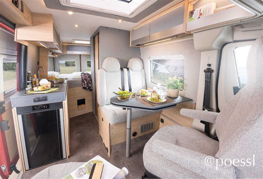 Der neue Pössl Kastenwagen 2021 Trenta 600