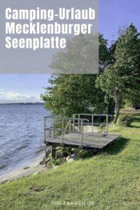Camping-Urlaub Mecklenburgische Seenplatte: Deutschland mit Wohnmobil