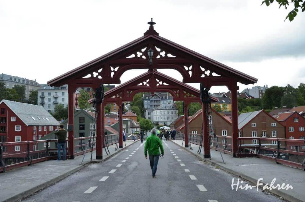 Mit Wohnheim in Trondheim: Brücke Gamle Bybro