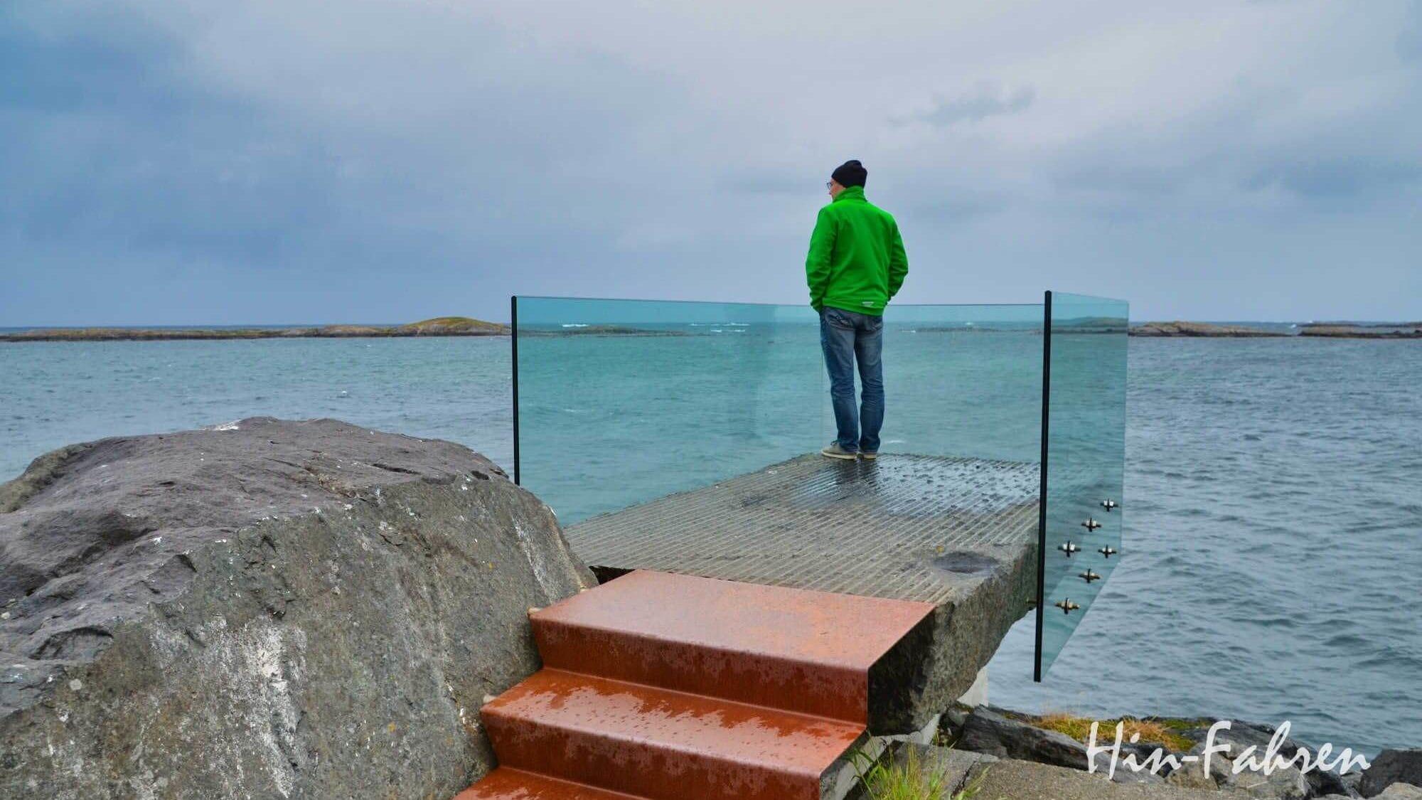 Aussichtspunkt an der Atlantikstraße