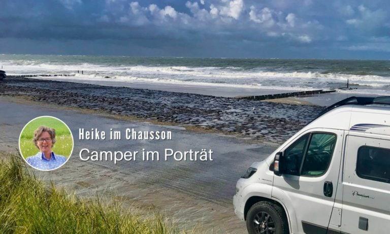 Kasten mit Inhalt: Heike und ihr Kastenwagen-Wohnmobil Chausson Road Line