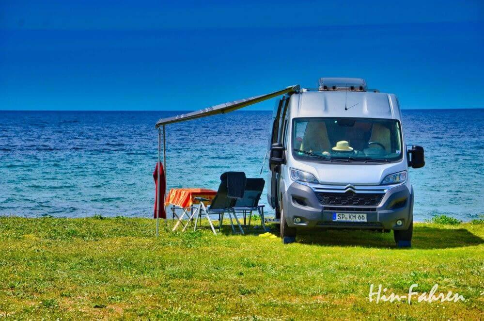 Wohnmobil-Bloggerin & Camping-Journalistin Katja ist im Camper unterwegs