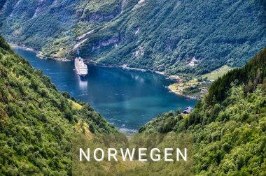 Routen Wohnmobil Norwegen: Hin-Fahren wo es schön ist