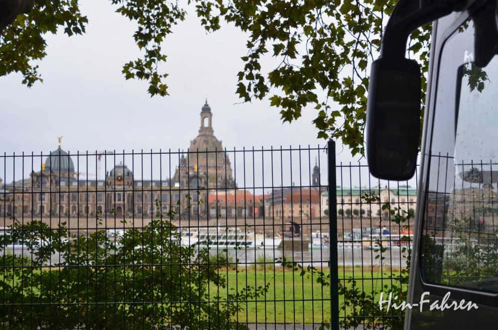 Wohnmobil-Kurztrip: Stadtbesuch in Dresden im Camper - Übernachtung auf dem Wohnmobil-Stellplatz