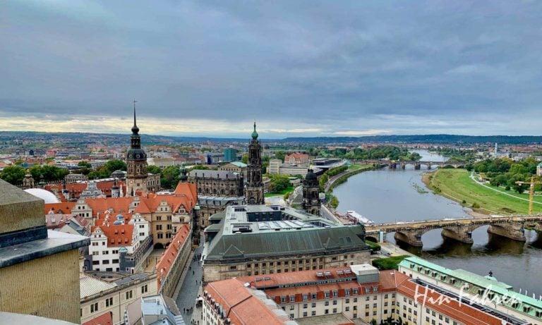 Wohnmobil-Kurztrip nach Dresden
